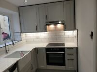 Fully Skilled kitchen fitter