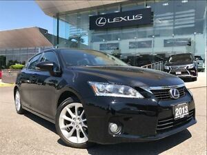 2013 Lexus CT 200h Technology Pkg Navi Backup Cam Leather Sunroo
