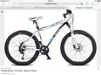 Men's mountain bike as new (used once due to ankle surgery)