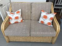 Rattan Sofa 24 months Old, pristine condition from Sterling Furniture
