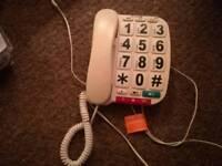 Opticom corded telephone