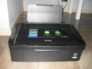USED 3 TIMES EPSON TX110 PRINTER SCANS/PRINTS/COPIES - CALLS ONLY Cranebrook Penrith Area Preview