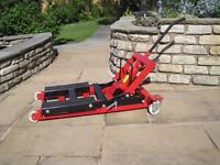 Clarke Strong-Arm CML2 500kg Motorcycle Lift - Very Little Use From New