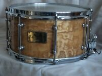 PEARL MASTERS CUSTOM Maple Snare TAMO finish excellent condition £225