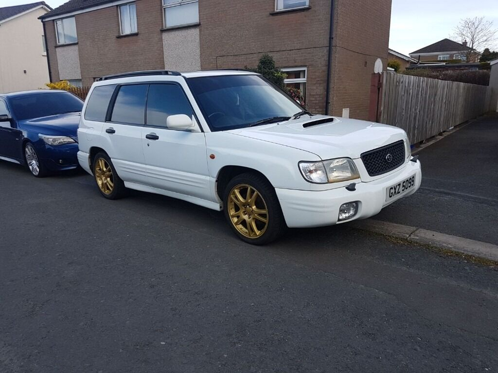 2001 subaru forester s turbo in newtownards county. Black Bedroom Furniture Sets. Home Design Ideas