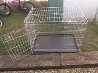 Dog cage/dog crate - pets at home - medium in lovely condition