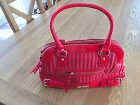 LYDC Handbag -red