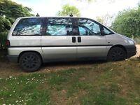 Fiat ULYSSE 7seater/day van diesel 107k £400!!