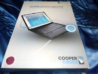 COOPER INFINITE EXECUTIVE LEATHER BLUETOOTH TABLET KEYBOARD