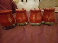brand new sabichi 4 piece kitchen tea set