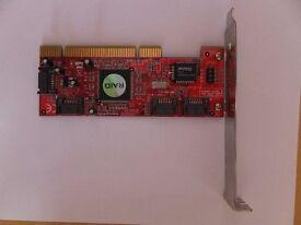 4 Port PCI SATA RAID Controller Adapter Card