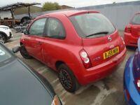 BREAKING ---- Nissan Micra Visia 1.2L Petrol K12 ------2009