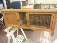 Rabbit hutch and cover brand new rrp £95