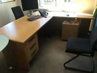 Corner Desk Set for sale - must go today/tomorrow