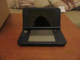 New Nintendo 3DS XL, Navy, used