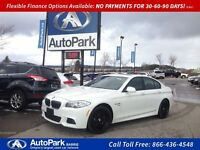 2011 BMW 535I xDrive M Sport Package  Navigation Heated Leather!