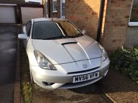2006 (56) Toyota Celica 1.8 VVTi, MOT to Jan 18, Full leather, Air con, Low mileage