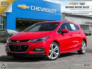 2018 Chevrolet Cruze Premier Auto RS PACKAGE / HEATED FRONT S...