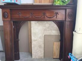 Antique fireplace