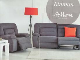Harveys kinman sofa and 2 armchairs