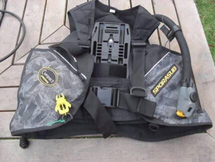 Sporasub Scuba BCD Dive Gear size L