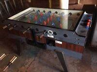 Pub Football Table - glass top Garlando style