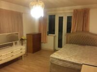 Lovely furnished Large Double room is available to rent for Couples only in a lovely Flat
