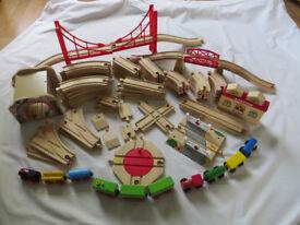 Good Quality Wooden Train Set