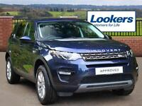 Land Rover Discovery Sport TD4 SE (blue) 2016-09-21