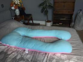 Queen Rose u shaped Pregnancy/Maternity Pillow
