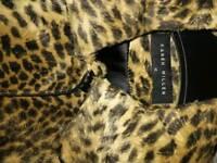 Karen Millen light weight leopard print coat