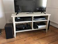 Wooden worn look TV unit