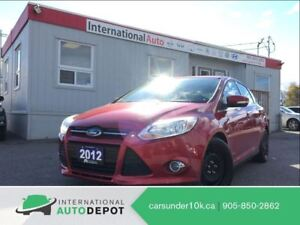 2012 Ford Focus SEL | 2 SETS OF TIRES | CRUISE