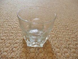 Glass Whisky Whiskey Glass Tumbler Rummer Glassware Gift Idea