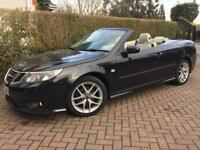 SAAB 9-3 VECTOR SPORT 1.9 TID 150 BHP 2007 57 REG🔆CONVERTIBLE🔆SAT NAV🔆HEATED LEATHER🔆ELEC ROOF🔆