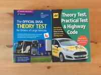 Dvsa PCV-LGV theory test and Theory test + highways code bought 2017