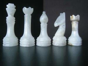 New Onyx and Marble chess sets with Velvet cases