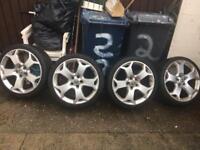 Vauxhall vectra alloys wheels