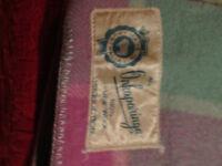 Vintage Genuine Australian Merino Wool Blanket