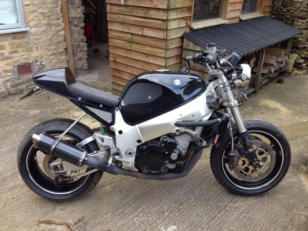 gsxr 750 srad 99 cafe fighter p x supermoto in stroud gloucestershire gumtree. Black Bedroom Furniture Sets. Home Design Ideas
