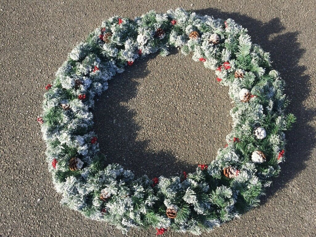 Large Commercial Christmas Wreath Decoration
