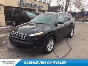 2016 Jeep Cherokee DEMO, NORTH 4X4, COLD WEATHER GRP, NAV READY,