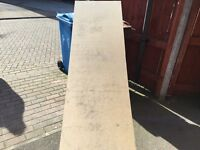 4 x Sheets of mdf boards 8ft x 2ft