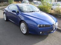 2006 56-reg Alfa Romeo Brera 2.2JTS SV Coupe manual in misano blue