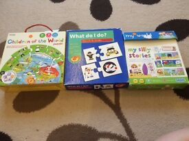 3 puzzles for kids