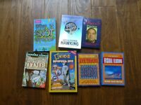 7 Kids science, fact and optical illusion books all excellent condition