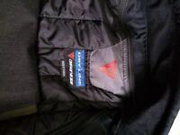 Dainese Motorcycle Black Jacket 54