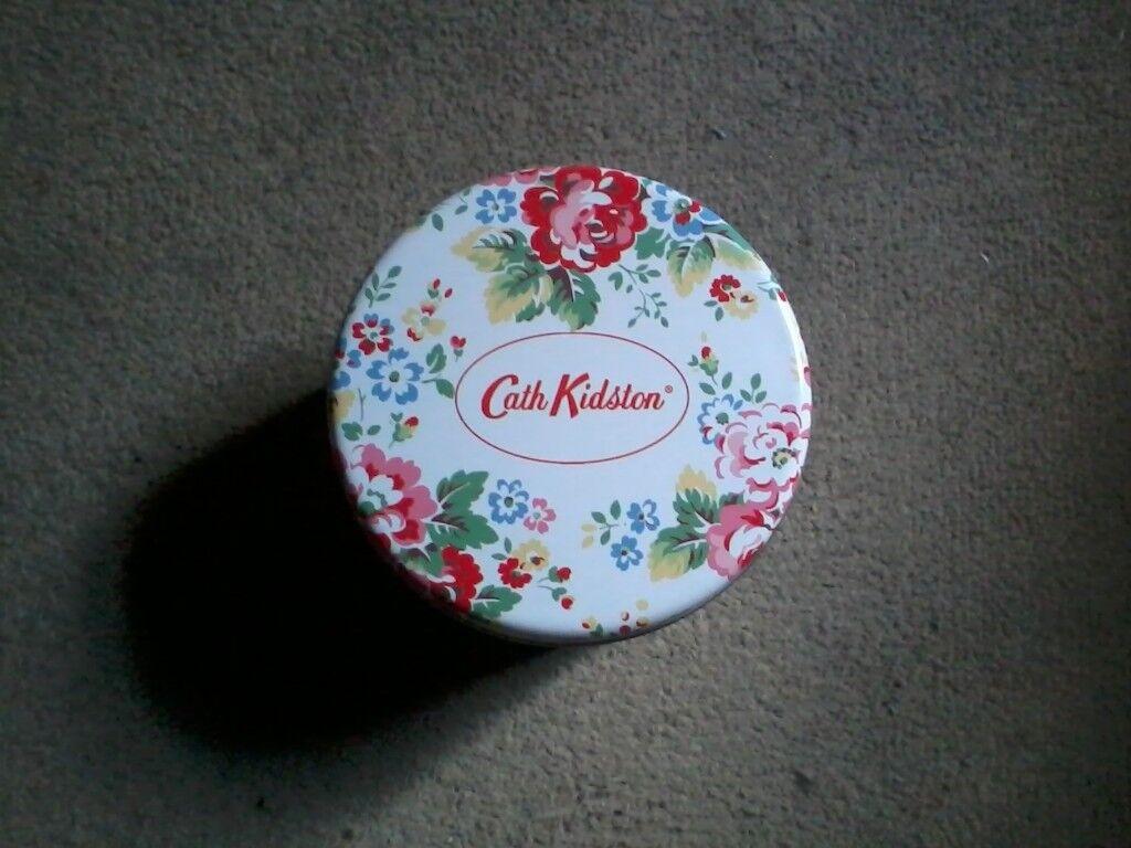 Empty Cath Kidston mug tin