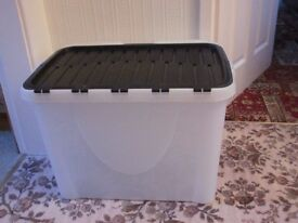 Various Size Plastic Storage Boxes