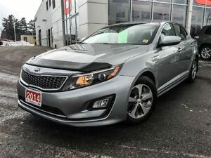 2014 Kia Optima Hybrid LX-ONLY 17,916 KMS!!!